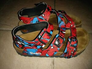 Kids Spiderman Birkenstock Sandals (Birkis) size 31