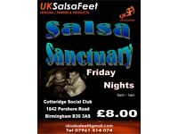 Salsa Sanctuary Friday Nights
