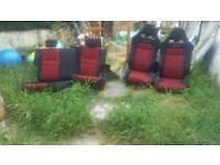 Type r Recaro seats