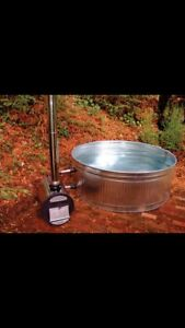 Hot tub (wood burning)  water tank only