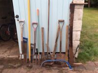 Selection of Garden Tools (16 altogether)