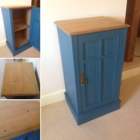 Painted Cupboard / Side Table