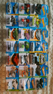21 hot wheels movie/tv cars great deal want gone
