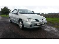 Renault Megane 1.6e CABRIOLET CHEAP CHEERFUL LOW MILEAGE SOFT TOP