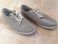 Pull & bear shoes brown size 43