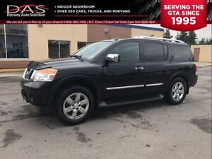 2010 Nissan Armada Platinum Edition Navigation/Leather/Sunroof