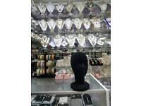 Retail display head mannequinn