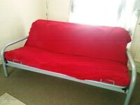 Double click clack sofa bed in excellent condition, £50 0no, buyer collects.