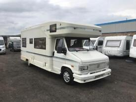 SWIFT KON-TIKI 6 BERTH MOTORHOME - END BEDROOM / U-SHAPE LOUNGE - VERY SOUGHT AFTER!