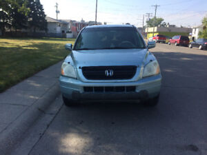 2003 Honda Pilot EX-L SUV, fully loaded, active status, leather