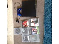 PLaystation 3 CONSOLE AND games bundle NO HDMI cable