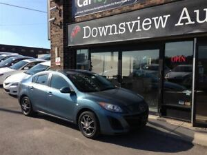 2011 Mazda MAZDA3 AUTO!!!FULLY LOADED!!!ALLOYS!!!FULLY CERTIFIED