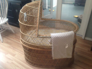 Stunning and Safe One of a Kind Bassinet