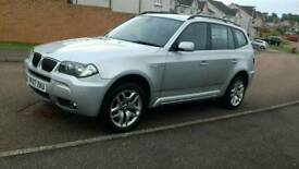 GREAT BARGAIN 2007 BMW X3 M SPORT FULL MOT FULL SERVICE HISTORY JUST BEEN SERVICED