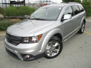 2017 Dodge JOURNEY Crossroad (ONLY 100 KMS! 7-PASSENGER, AWD, NA