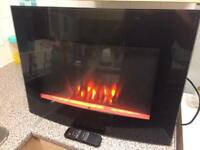 Plasma Wall Fire With Remote Mint