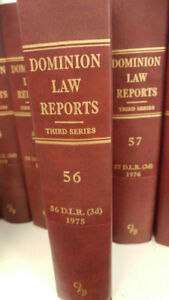 Dominion Law Reports, 3rd Series, Volumes 1-150