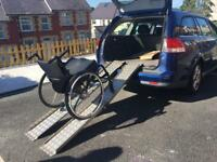 Wheelchair ramps.