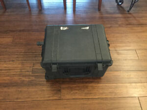 Pelican travel case camera gear telescope