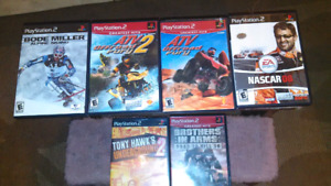 Selling!!..6 Assorted Playstation 2 Games
