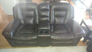 Leatheraire Couch & Love Seat