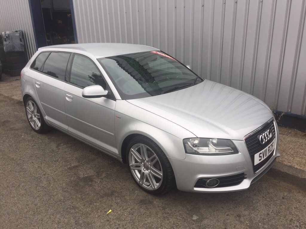 audi a3 2 0 tdi s line sportback 5dr silver 2011 in gateshead tyne and wear gumtree. Black Bedroom Furniture Sets. Home Design Ideas