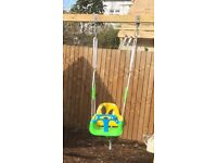 Toddler swing seat, like new. Adaptable for use from baby to 36 months