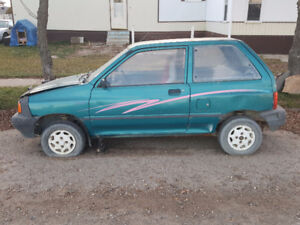 REDUCED Ford Festiva L 1992