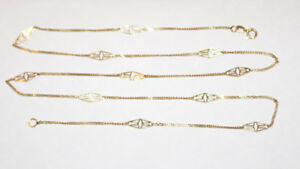 """14K SOLID YELLOW GOLD 24"""" Chain **NEW CONDITION**"""