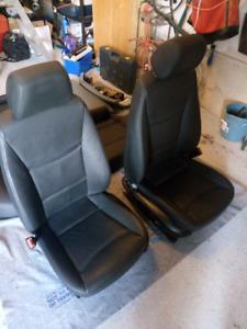 E90 leather seats