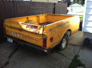 1972 Chevrolet Long box and tailgate. NO rust
