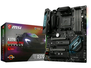 MSI Gaming Pro Carbon X370 Motherboard
