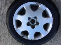 Alloy wheel with tyre Lexus LS430