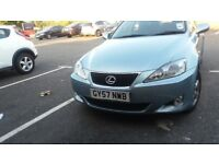 LEXUS IS220d 2.2 MANUAL DIESEL SALOON VERY LOW MILEAGE (RECENTLY HAD FULL SERVICE)