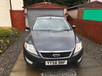 Ford Mondeo 2008 (58 plate) 2.0 Tdci Hatchback in Sea Grey