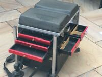 "Maver ""Black Box"" seat box 5 draws and with adjustable legs - Befleet Essex"