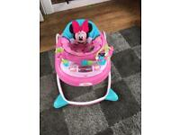 Girl's Minnie Mouse babywalker