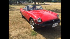 1980 MG MGB 4spd manual