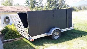 2016 TRITON ATV aluminum trailer...with wooden cover