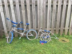 Vintage BMX Bikes from late 1970's early 80's
