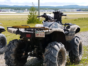 Yamaha Grizzly----$old pending pick-up