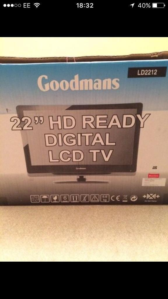 "22"" HD Ready Digital LCD TV"