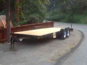 Car  equipment trailer