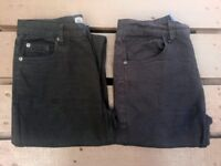 Boys Jeans, 2 Pairs (Next & Demo), Age 13 Years