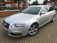 2007 (07) AUDI A6 AVANT S-LINE 2.0 TDI CVT AUTOMATIC 5 DR EXCELLENT CONDITION FULL SERVICE HISTORY