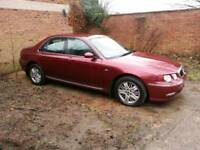 Rover 75 CDT. 8 months MOT. SPARES OR REPAIRS