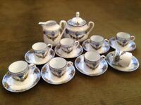 Art Deco Limoges espresso set * vintage * rare item