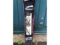 Slazenger cricket set excluding a ball.