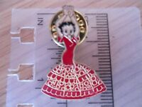 BETTY BOOP DANCING IN SPANISH DRESS - COLLECTABLE PIN