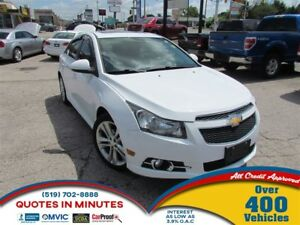 2012 Chevrolet Cruze LTZ | TURBO | RS PACKAGE | LEATHER | ROOF